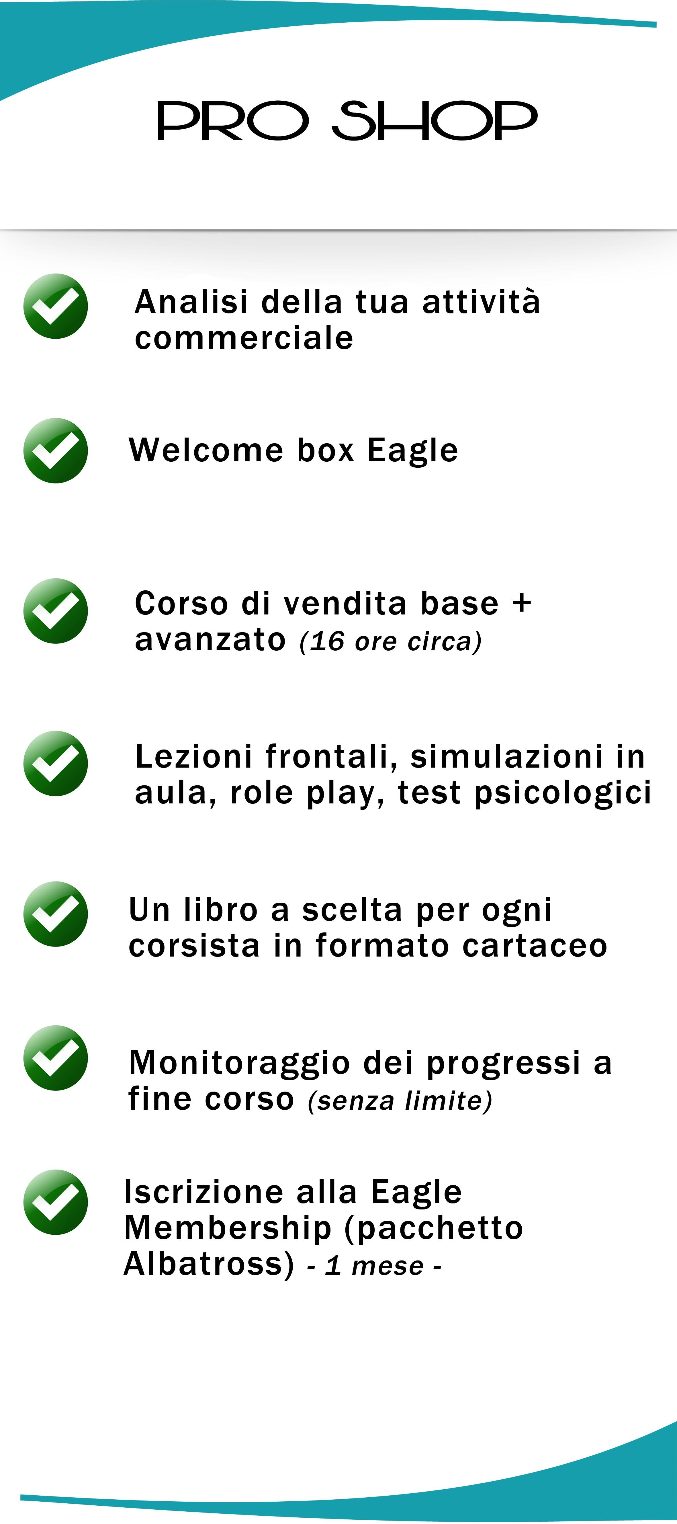 corsi di vendita eagle